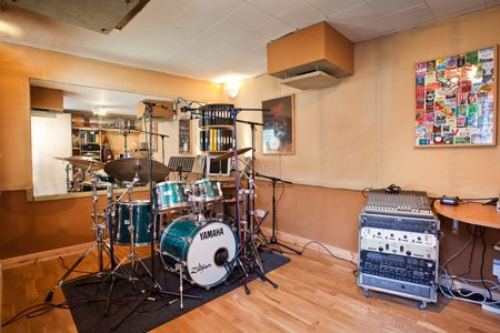 the drum shed drum studio london