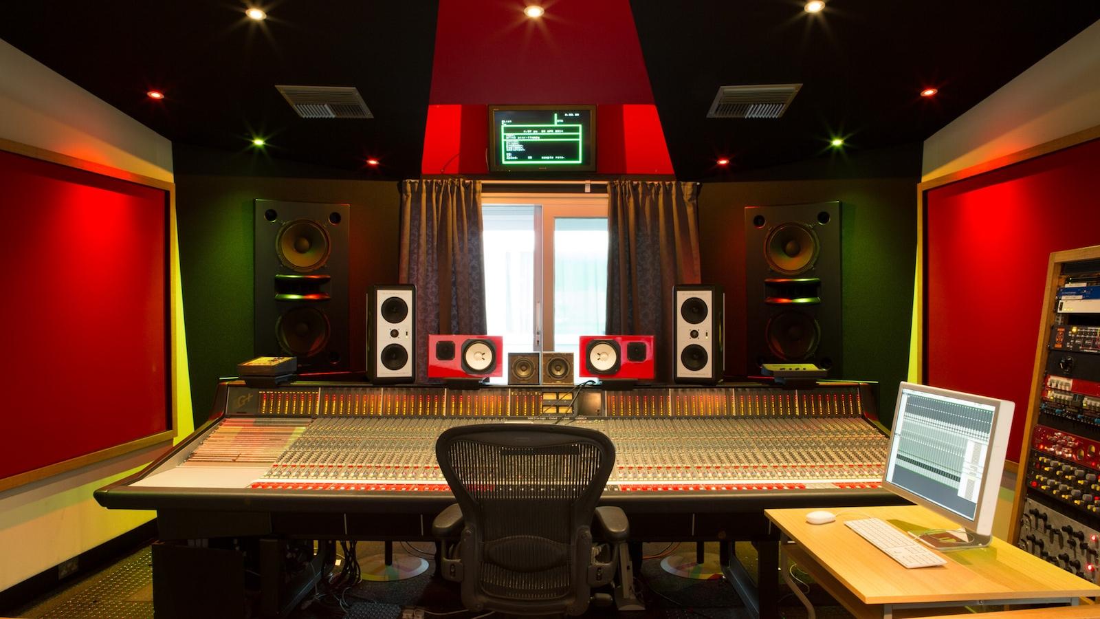 Recording studio essay
