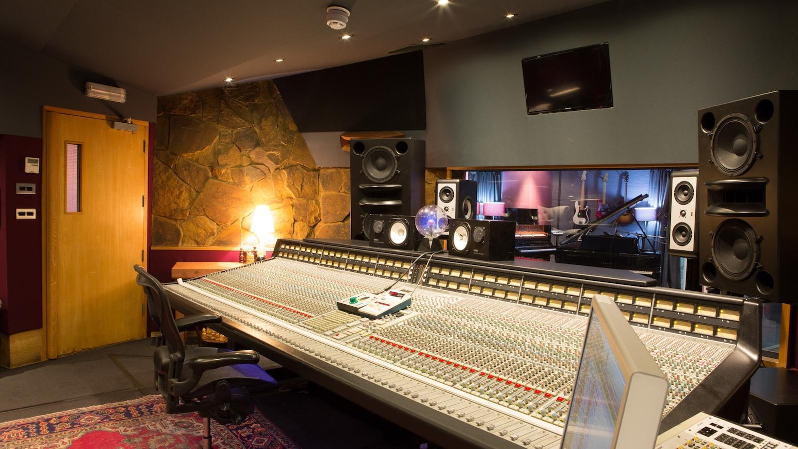 Livingston Studio 1 Landing Page Wood Green Recording Studio